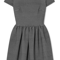 Miu Miu - Striped ribbed stretch-jersey mini dress