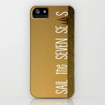 Sail the Seven Seas iPhone Case by RichCaspian | Society6