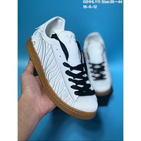 HCXX A374 Adidas Y-3 Embroidered Men's Low Canvas Shoes White