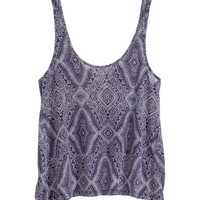 Flared Tank Top - from H&M