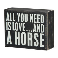 Horse Design BOX 60% OFF