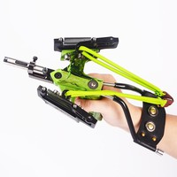 2018 Fishing Slingshot Shooting Catapult Bow Arrow Rest Bow Sling Shot Crossbow Bolt High Velocity For Fishing And Hunting