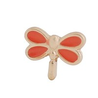 Floating Dragonfly Charm Compatible With Origami Owl Lockets