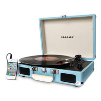 Crosley Turquoise Portable Cruiser Turntable