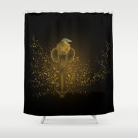Tribute to Game of Thrones (V2 Gold) Shower Curtain by LilaVert | Society6