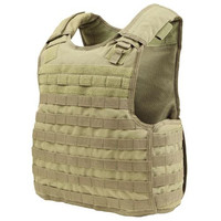 Quick Release Plate Carrier - Color: Tan
