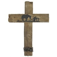 Praying Cowboy Wall Cross | Shop Hobby Lobby