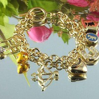 8DESS Juicy Couture Woman Accessories Fine Jewelry Chain Bracelet