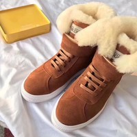 UGG Women Fashion Wool Snow Boots Shoes