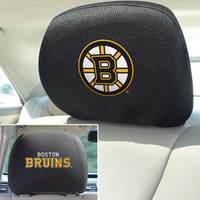 Boston Bruins Head Rest Covers