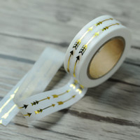 Gold Double Arrow Washi Tape (Wanelo Special)