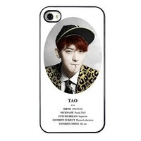 KPOP EXO MEMBER XOXO IPHONE4 CASE (TAO)