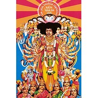 Jimi Hendrix Axis Bold As Love XL Giant Poster 39x54