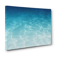 Blue Ombre Waters - Gallery Wrap Canvas
