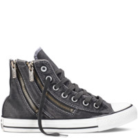 Chuck Taylor All Star Dual Zip Black Wash