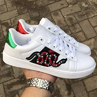GG Old Skool Women Men Fashion Embroidery Sneakers Sport Shoes
