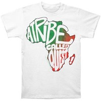 A Tribe Called Quest Africa Gradient Slim Fit T-shirt - A Tribe Called Quest - A - Artists/Groups Rockabilia Music Merchandise