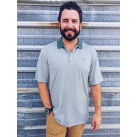 Southern Shirt Company Heritage Performance Polo- Duck Green