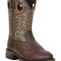 Durango Youth Olive Green Lil' Durango Cowboy Boots - Round Toe - Sheplers