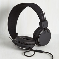 Music Thoroughly Modern Musician Headphones in Black by Urbanears from ModCloth