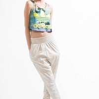 adidas Floralina Cropped Tank Top - Urban Outfitters