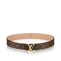 key:product_share_product_facebook_title LV Initials Monogram Belt