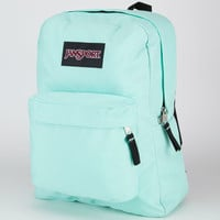 Jansport Black Label Superbreak Backpack Mint To Be Green One Size For Men 21553152301