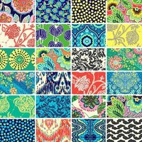 Amy Butler LARK ENTIRE COLLECTION Precut 5-inch Charm Pack Cotton Fabric Quilting Squares Assortment Westminster Fibers