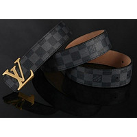 LOUIS VUITTON CLASSIC MEN&WOMEN REAL LEATHER BELTS.