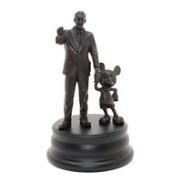Walt Disney and Mickey Mouse 'Partners' Bronze Statue | Disney Store