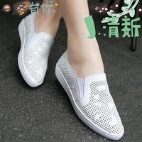 Women Flat Shoes Women's Designer Shoes Hollow Hole Zapatos Mujer 2016 Sapato Feminino Brand Shoes Woman