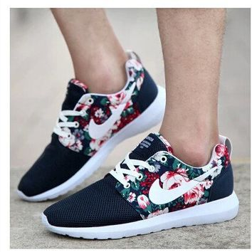 2015 New Design Flower roshelis trainers women& men running shoes ,hot sale London Mesh RUN sports sneakers breathable shoes