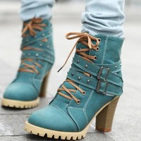 Hike With Me Ankle Boots