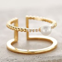 Madeleine Pearl Ring by Anthropologie Pearl