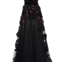 Embellished Long Dress | Moda Operandi