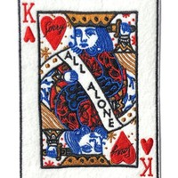 King Of All Alone Large Patch