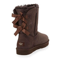 ugg bow leather boots boots in tube-2