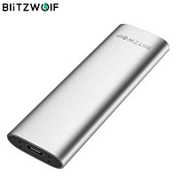 BlitzWolf SSD 256GB 512GB USB 3.1 Gen 1 High Speed Hard Drive with Type-C Port Portable Solid State Disk Support OTG for Mobile