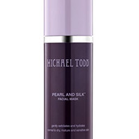 Michael Todd - Pearl and Silk Extra Gentle Luxury Facial Mask| Gently Exfoliates and Hydrates Normal to Dry Mature and Sensitive Skin (3.4 Ounces)