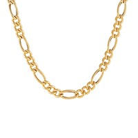 Hollow Figaro Necklace 14K