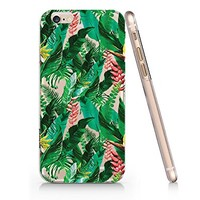 Tropical Flower Banana Leaves Slim Iphone 6 6s Case, Clear Iphone Hard Cover Case For Apple Iphone 6 6s Emerishop (NLA175.6sl)