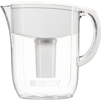 Brita Slim Water Pitcher with 1 Filter, White, 5 Cup - Walmart.com