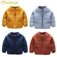 Boys Cotton Casual Baseball Jacket Winter&Autumn Kids Brand Quality Coat Child Thick Outwear Boys Clothing