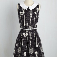Rad to the Bone Dress in Homo Sapiens | Mod Retro Vintage Dresses | ModCloth.com
