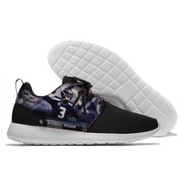 New design rugby seahawks player  russell and earl-thomas design comfortable light Sport shoes for Men and Women