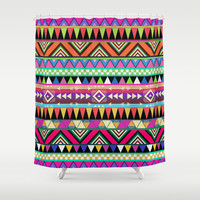OVERDOSE Shower Curtain by Bianca Green