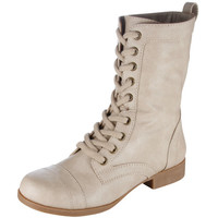 Payless, Women's Tanner Lace-Up Boot, Women's, Boot