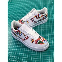 2018 Fifa World Cup Nike Air Force 1 Low Af1 National Flags Fashion Shoes
