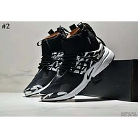 Nike Air Presto Mid x ACRONYM Joint model high-top zipper running shoes #2