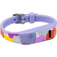 French Bull - Wristband for Fitbit Flex Wireless Activity Trackers - Floral Purple